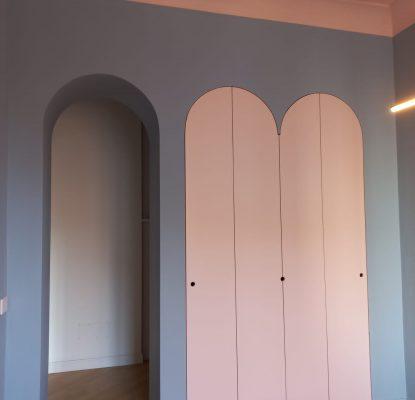 Come costruire un armadio a muro in nicchia da soli